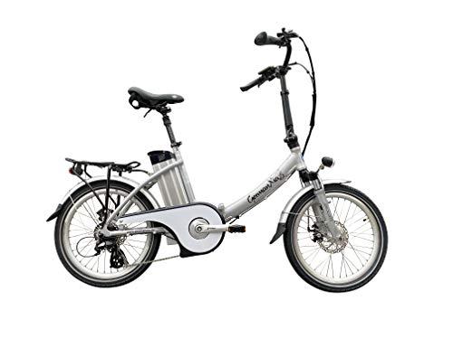 GermanXia E-Bike Faltrad Mobilemaster E-Klapprad Touring CH 7G Shimano 20 Zoll, eTurbo 250 Watt HR-Antrieb, bis zu 138 km Reichweite nach StVZO