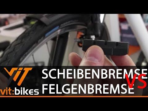 Scheibenbremse vs. Felgenbremse - Was bremst besser? - vit:bikesTV 093